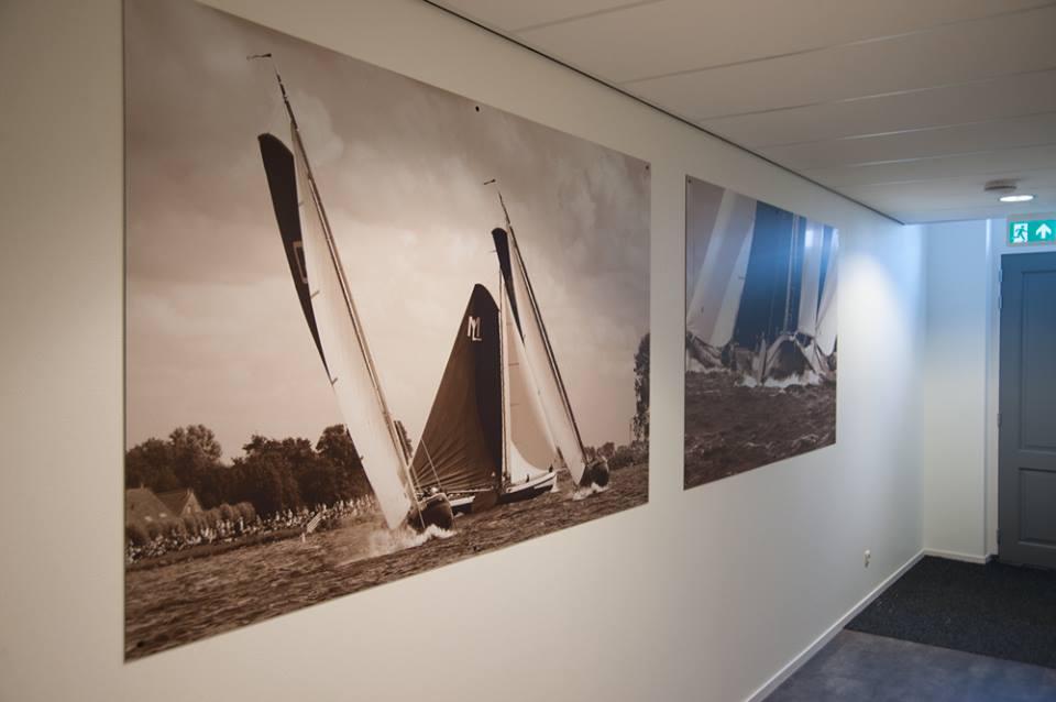 30 meter wanddecoratie voor van der wal makelaars foto for Van der meer makelaars