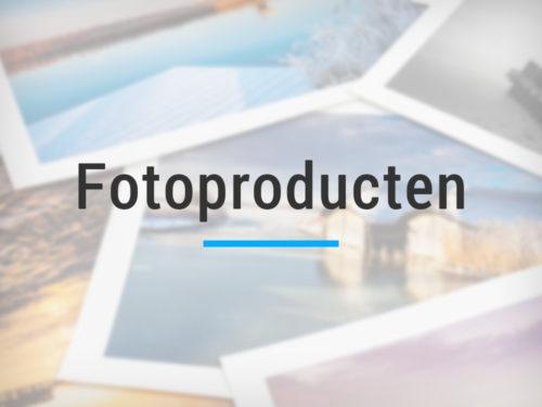 Fotoproducten en wanddecoratie