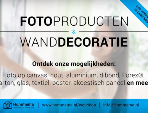 Nieuwe printmaterialen en formaten