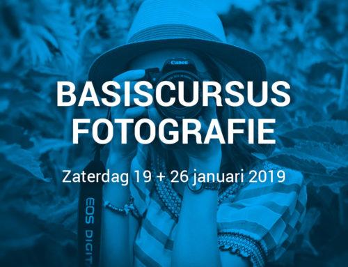 Aftrap cursusseizoen 2019: Basiscursus Fotografie