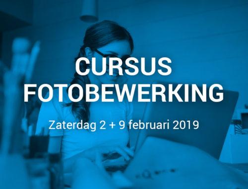 Cursus Fotobewerking (nog twee plekken beschikbaar)