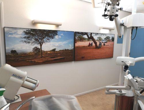 Akoestische panelen voor tandartspraktijk Noordbruis